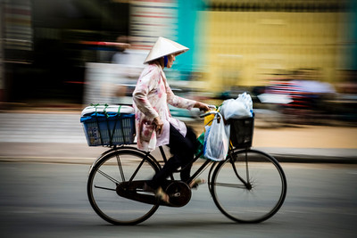 Cycling Vietnam style
