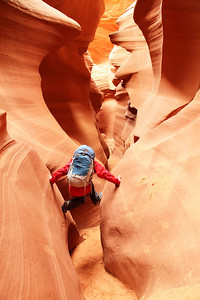 A hike in Antelope Canyon Arizona