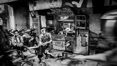 "TIME WILL TELL - ""HAIR"" TOMORROW OR NOT? INDONESIA, 2015."