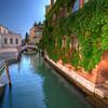 Venice Canal near Santa Maria della Salute Church