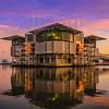 Lisbon Oceanarium at Sunset Fine Art Photography By Messagez com