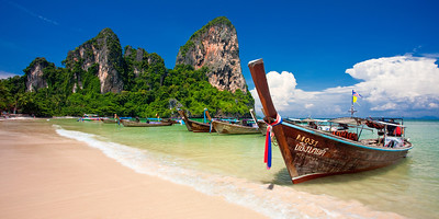 West Railey beach, Thailand