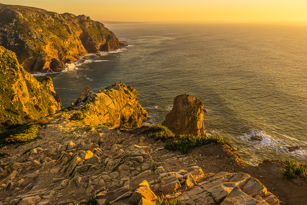 Portugal Atlantic Ocean Sunset Viewpoint Photography 11 By Messagez com