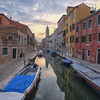 Venice Canal in the Dorsoduro District