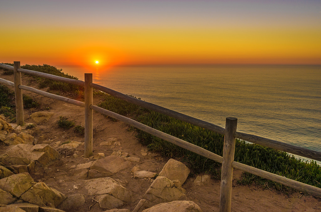 Portugal Atlantic Ocean Sunset Viewpoint Photography 6 By Messagez com