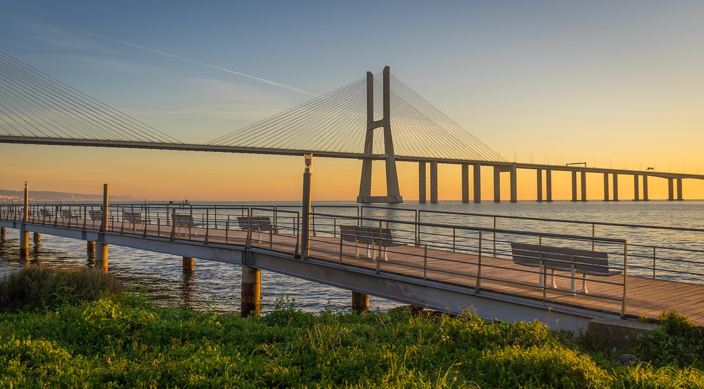 Portugal Lisbon Park of Nations Photography 7 at Sunrise Messagez com