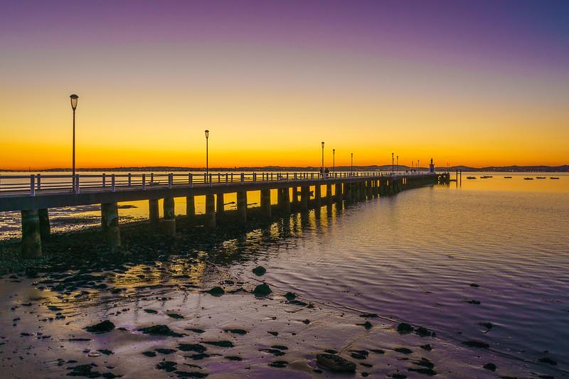 Portugal Alcochete Sunset Pier Photography 17 By Messagez com