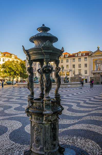 Original Lisbon Fountains Art Photography 3 By Messagez com