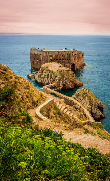 Road To The Berlenga Island Castle Portugal Photography 5 By Messagez com