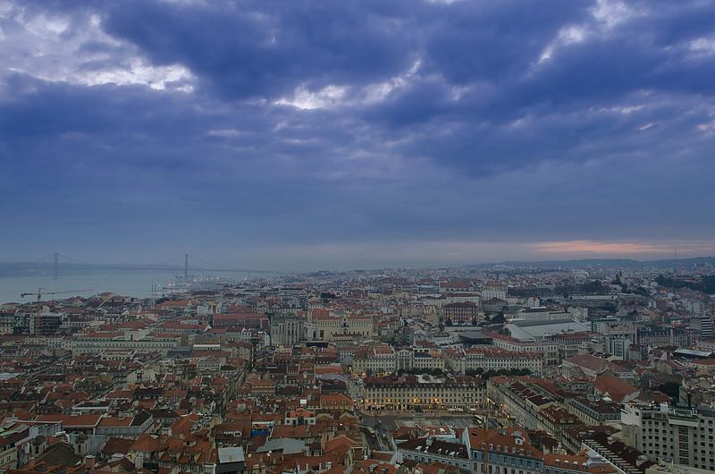 Original Lisbon Landscape Storm Photography By Messagez com