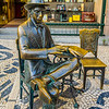 Lisbon Fernando Pessoa Statue Photography By Messagez com