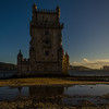 Lisbon Belem Tower Reflection