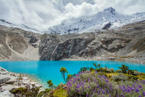 Laguna 69 In the Cordillera Blanca range Peru