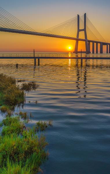 Best of Lisbon Bridge Sunrise Photography 2 By Messagez com