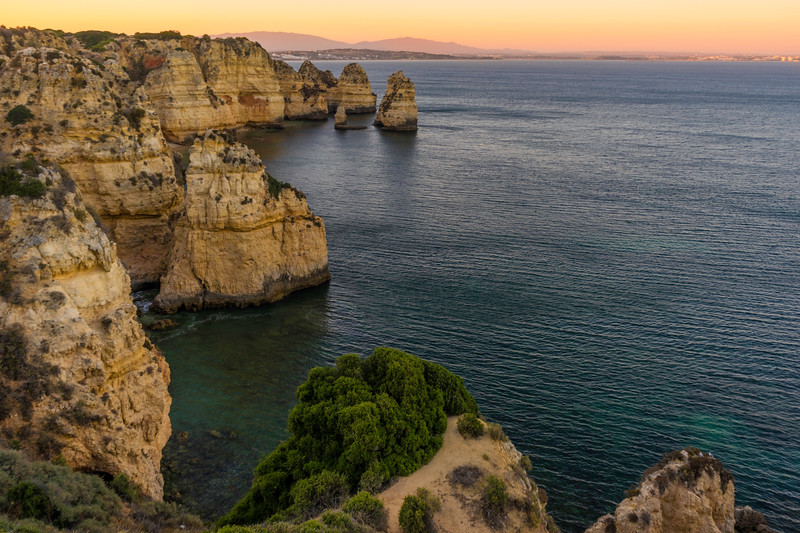 Portugal Algarve Magical Coast at Sunset Photography Messagez com