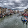 Storm Clouds Over The Grand Canal, Venice, Italy