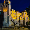 The Mystic Portugal Cascais Castle at Night Photography 2 By Messagez com