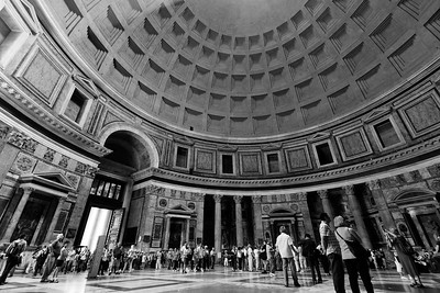 Pantheon interior,  Rome