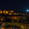 Super Moon Image at Lisbon Castle