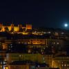 Super Moon Image at Lisbon Castle
