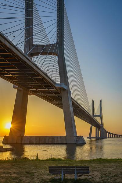 Best of Lisbon Bridge Sunrise Photography 11 By Messagez com