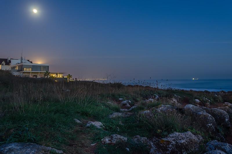 Cascais Coast at Night Photography