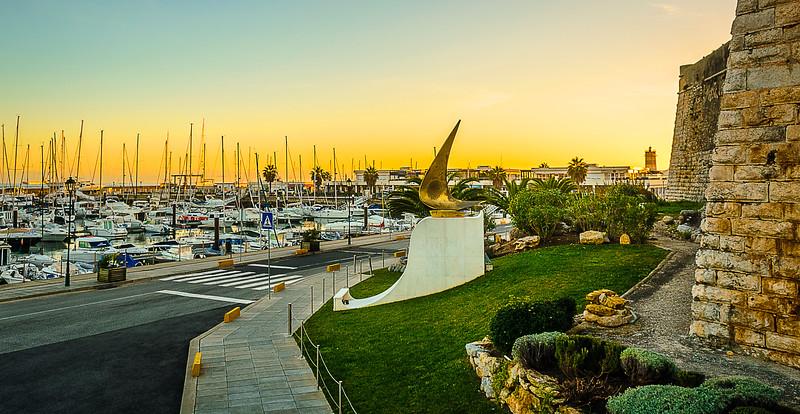 Beautiful Cascais Marina at Sunset Photography By Messagez com