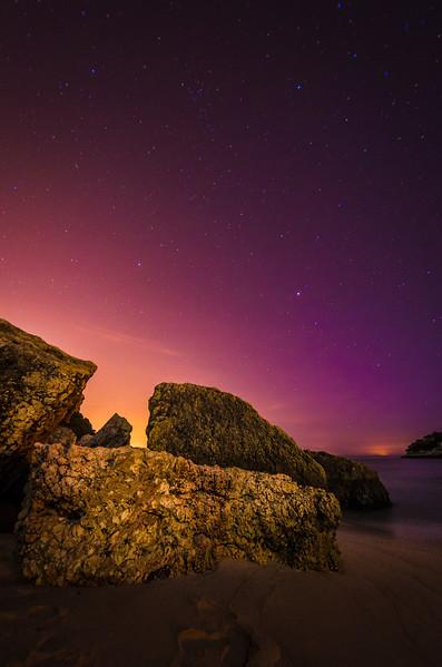 Portugal Coast Arrabida Night Sky Photography 2 By Messagez com