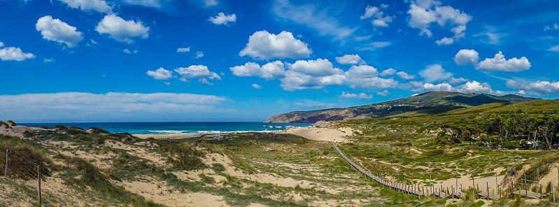 Road to Cascais Beach Panorama Photography By Messagez com