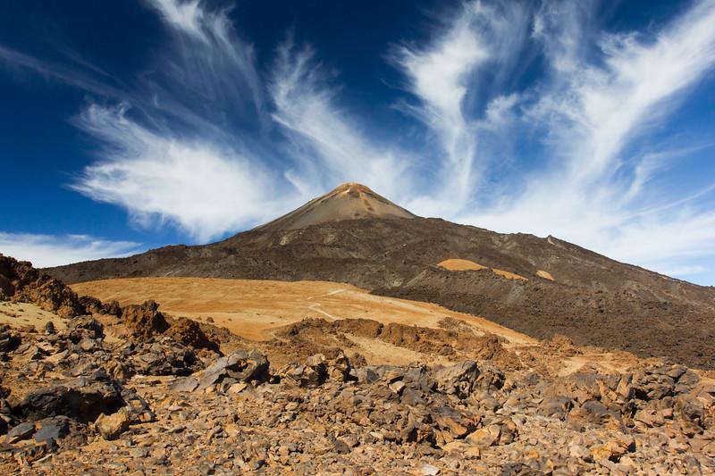 El Teide (3.718 km)