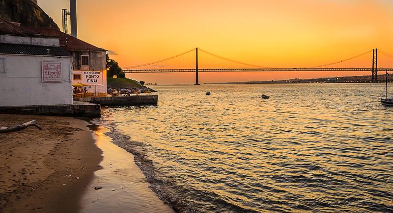 Best of Lisbon Bridge Sunset Photography 6 By Messagez com