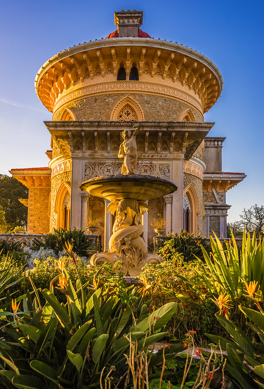 Sintra Monserrate Palace Photography 2 By Messagez com