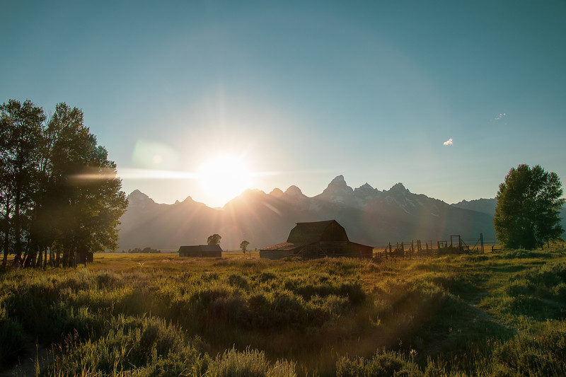 Afternoon Glow in Grand Teton National Park