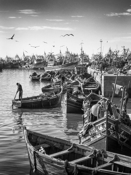 Port of Essaouira, Morocco