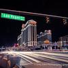 Light painting on the Las Vegas Strip.