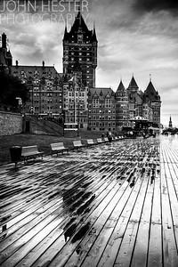 Quebec City Boardwalk