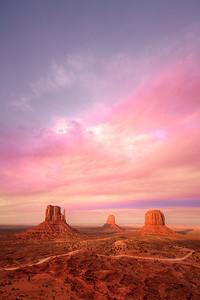 Monument Valley - Golden Hour - 2013