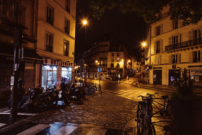 Streets of Paris at Night 2018