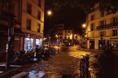 Streets of Paris at Night 2018