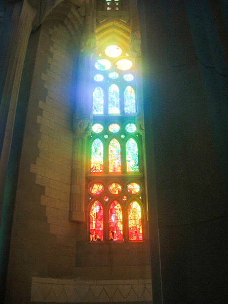 """Colour is the expression of life"". Gaudi He worked for 43 years on the temple until 1926. In 1914 he left all other work to concentrate exclusively on this sole project until his death on 10 June 1926,  The Cathedral is not expected to be completed until after 2020."