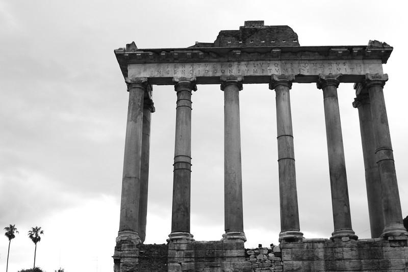 Rome, Italy: The Roman Forum.