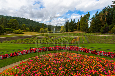 Butchart Gardens Victoria British Columbia