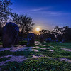 Portugal Cromlech of the Almendres Megalithic Complex Night Photography 7 By Messagez com