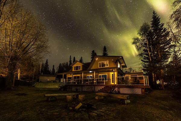 Northern BC House Aurora