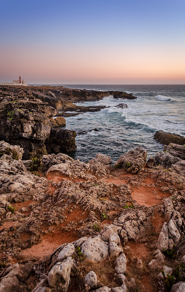 Cascais Portugal Coast at Sunset