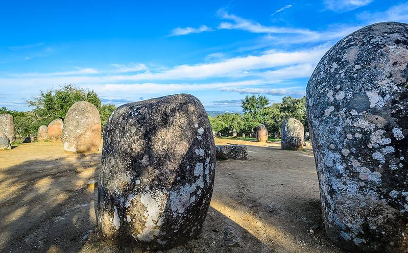 Portugal Cromlech of the Almendres Megalithic Magic Photography 20 By Messagez com
