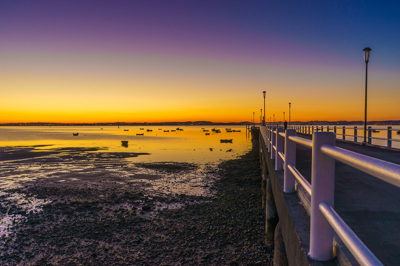 Portugal Alcochete Sunset Pier Photography 15 By Messagez com