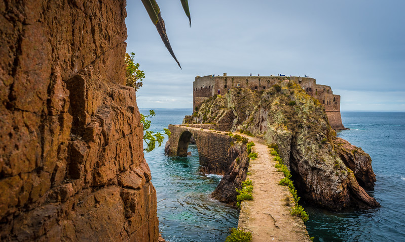 Road To The Berlenga Island Castle Portugal Photography 4 By Messagez com