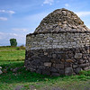 Small 18th century B.C. stone building at Santu Antine Nuragic Palace, Sardinia, Italy
