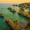 Portugal Algarve Golden Rock Boats Photography By Messagez com